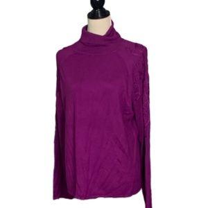 Soft Surroundings Rayon Sweater Plus Sz 1X